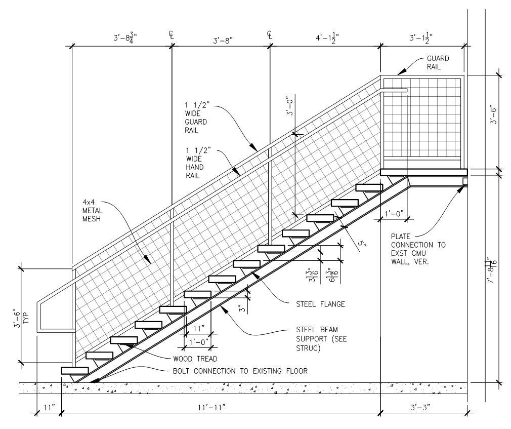 Stair, Ramp, & Railing Design — Dalkita